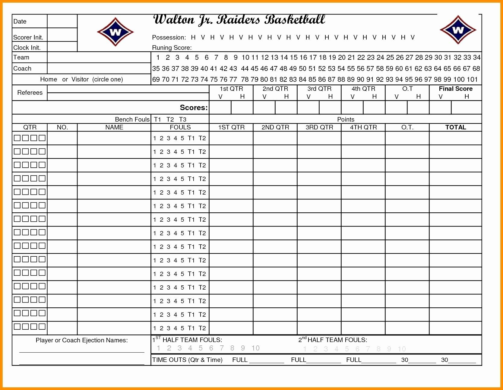 Unique Baseball Statistics Sheet | Mavensocial.co - Free Printable Softball Stat Sheets