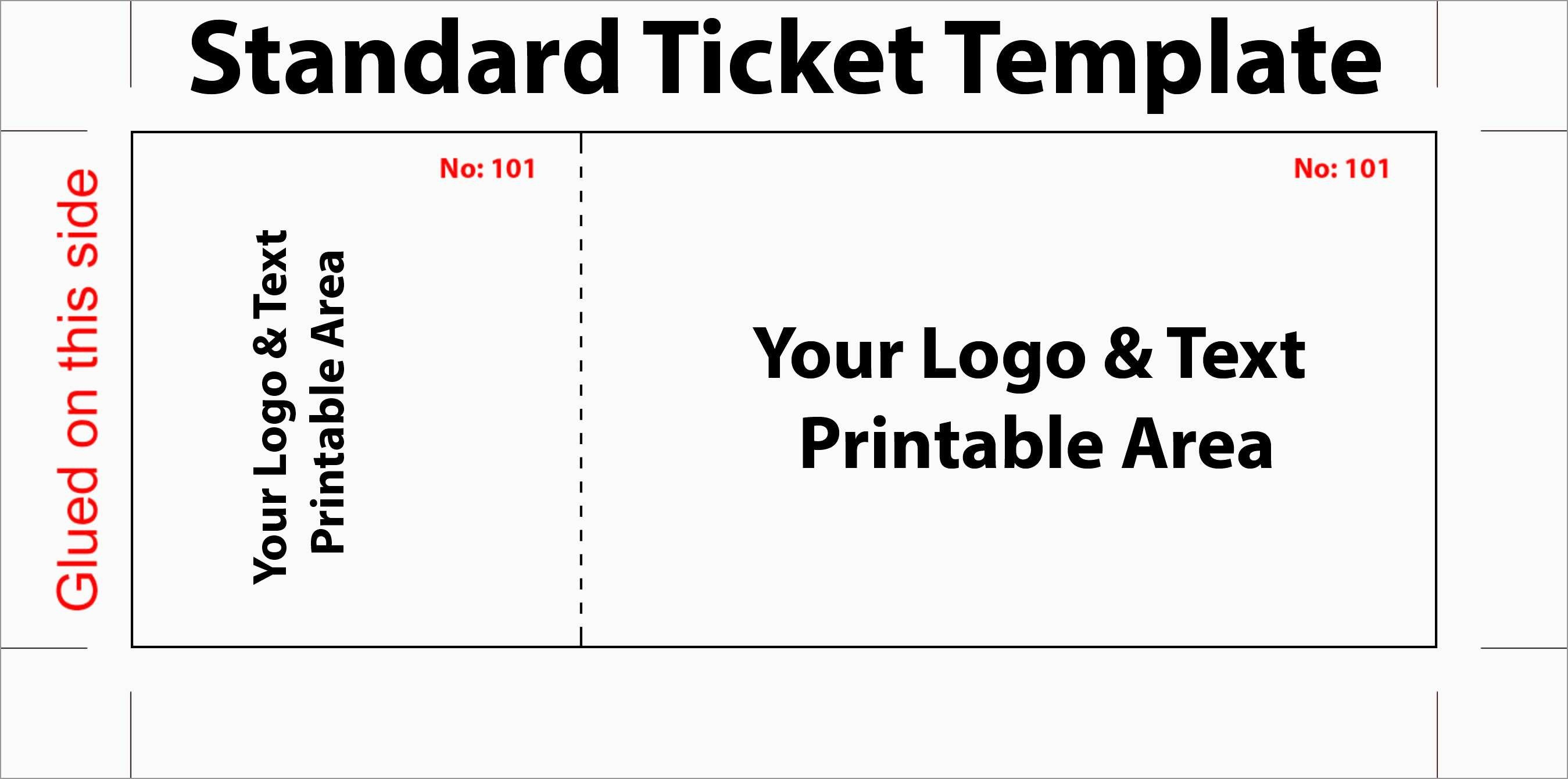 Unique Create Your Own Tickets Template Free | Best Of Template - Create Tickets Free Printable