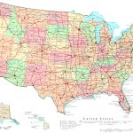 United States Printable Map   Free Printable Map Of The United States