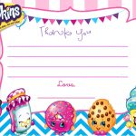 Updated   Free Printable Shopkins Birthday Invitation | Free   Free Printable Shopkins Birthday Invitations