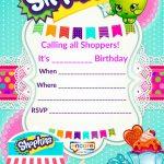 Updated   Free Printable Shopkins Birthday Invitation Template   Free Printable Shopkins Birthday Invitations