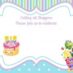 Updated   Free Printable Shopkins Birthday Invitation Template   Free Printable Shopkins Birthday Invitations