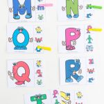 Uppercase And Lowercase Letter Matching Clip Cards   Fun With Mama   Free Printable Alphabet Letters Upper And Lower Case