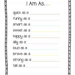 Useful Free Printable Toddler Curriculum All About Me 'i Am   Free Printable Toddler Worksheets