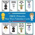 Valentine Card Round Up | Printables | Starwars Valentines Cards   Free Printable Lego Star Wars Valentines