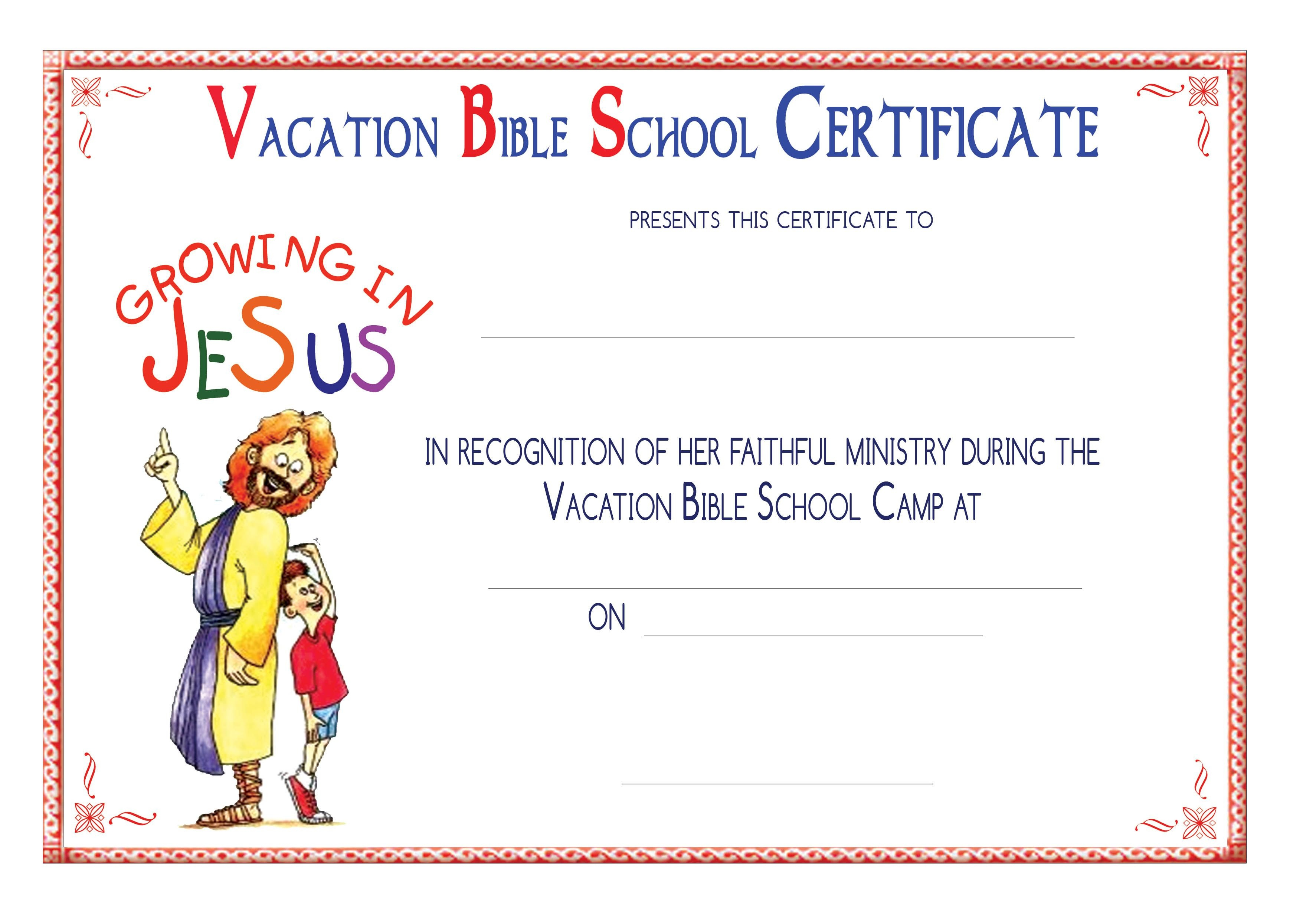 Vbs Certificate Templatesencephalos | Encephalos | Church - Free - Free Printable Vacation Bible School Materials