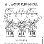 Veteran's Day Printable Coloring Page | Coloring Pages | Veterans   Veterans Day Free Printable Cards