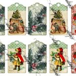 Vintage Christmas Gift Tags Printable Free – Festival Collections   Free Printable Vintage Christmas Tags For Gifts