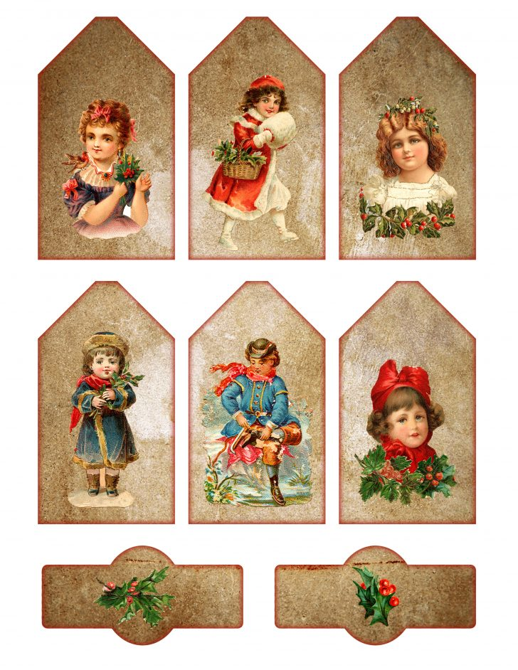Free Printable Vintage Christmas Pictures