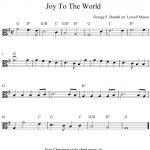 Viola Sheet Music For Beginners Christmas Music | Free Easy   Viola Sheet Music Free Printable