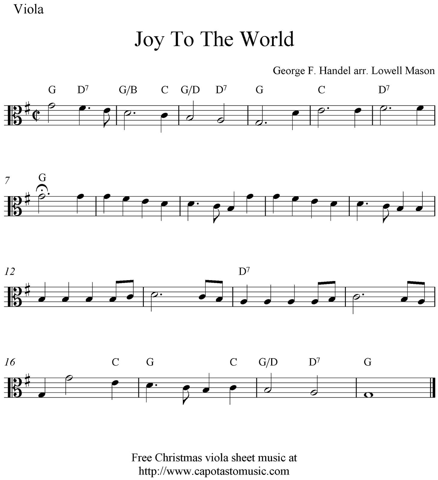 Viola Sheet Music For Beginners Christmas Music   Free Easy - Viola Sheet Music Free Printable