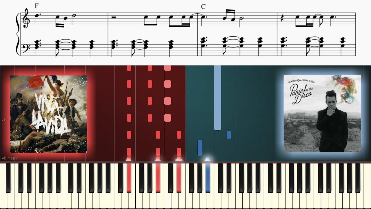 Viva La Vida And This Is Gospel Are Made For Each Other On Piano - Free Printable Violin Sheet Music For Viva La Vida