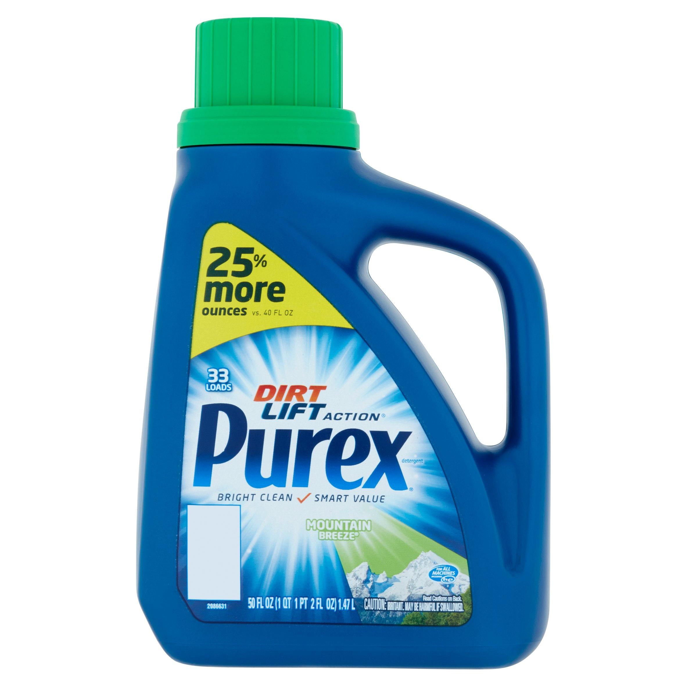 Walgreens: Purex Laundry Detergent (50 Oz Bottles) Just $1.49 - Free Printable Purex Detergent Coupons