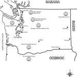 Washington State Map Coloring Page   Free Printable Coloring Pages   Free Printable Map Of Washington State