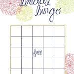 Wedding Shower Bingo Template – 28 Images – 6 Best Images Of Bingo   Free Printable Bridal Shower Bingo