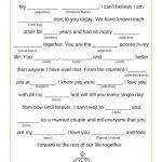 Wedding Vows: Disney Mad Libs | Disney Weddings   Free Printable Wedding Mad Libs