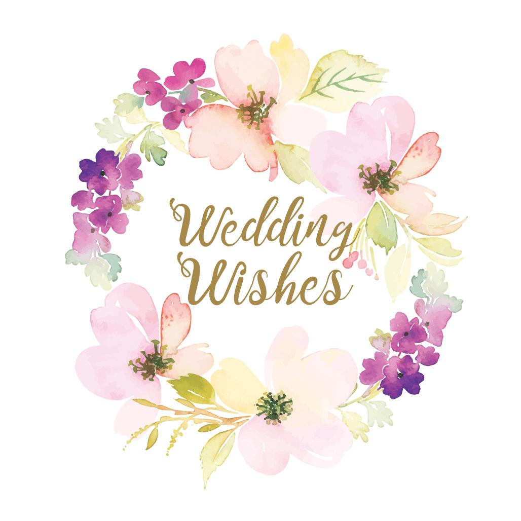 Wedding Wishes - Free Wedding Congratulations Card | Greetings Island - Free Printable Wedding Congratulations Greeting Cards