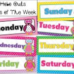 Weekly Calendar For Pdf Free Printable Templates Days Of The Week   Free Printable Days Of The Week Cards