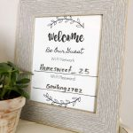Wifi Network And Password Sign   Free Printable Download!   Free Printable Wifi Sign