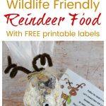 Wildlife Friendly Reindeer Food | Recipe | Holidays | Reindeer Food   Free Printable Winterization Stickers