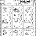 Winter Activities For Kindergarten Free | Reading/language   Phonics Pictures Printable Free