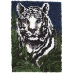 "Wonderart Latch Hook Kit 24""x34"" White Tiger | Joann   Free Printable Latch Hook Patterns"