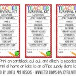 Workin It Wednesdays: Organized Back To School + Free Printable | My   Teacher Survival Kit Free Printable