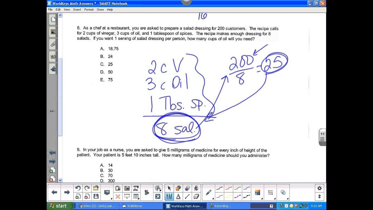 Workkeys Math Answers - Youtube - Tabe Practice Test Free Printable
